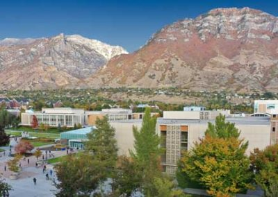 BYU in Provo, Utah County