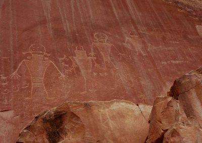 Sandstone Petroglyphs