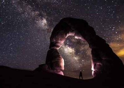 Delicate Arch Stargazing
