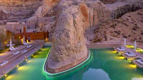 Special Places in Utah - Amangiri Resort