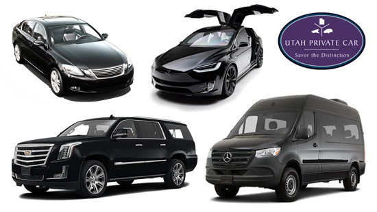 Utah Private Car Vehicles Tesla Escalade SUV Sprinter
